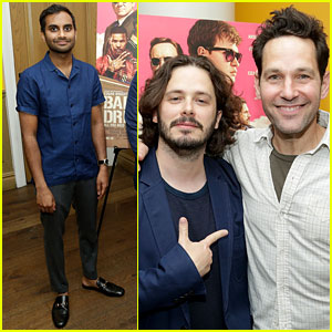Paul Rudd Attends 'Baby Driver' Screening Hosted by Aziz Ansari