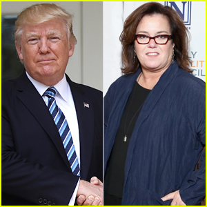 President Trump Jokes That He & Rosie O'Donnell 'Finally' Agree, Rosie Responds