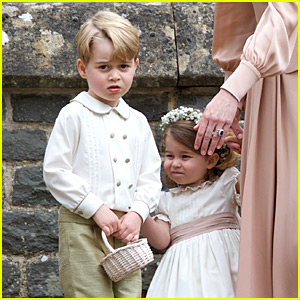 Prince George & Princess Charlotte Were So Cute at Pippa Middleton's Wedding! (Photos)