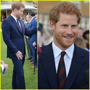 Prince Harry Hosts Buckingham Palace Garden Party For Veterans