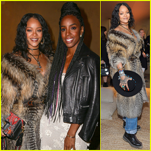 Rihanna Buddies Up With Kelly Rowland At Dior Cruise Runway Show 2018!