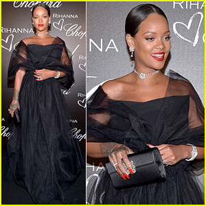 Rihanna Glams Up as Chopard's Guest of Honor in Cannes!