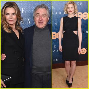 Robert De Niro & Michelle Pfeiffer Premiere 'Wizard of Lies' in NYC