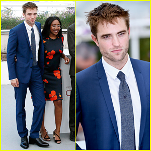 Robert Pattinson Suits Up For 'Good Time' Cannes Photo Call!