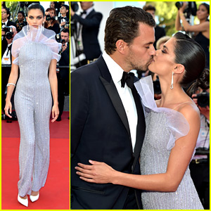 Sara Sampaio & Boyfriend Oliver Ripley Couple Up in Cannes!