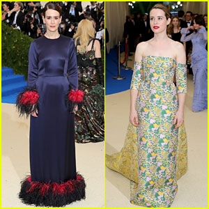 Met Gala 2017: Sarah Paulson & Claire Foy Stun on Red Carpet!
