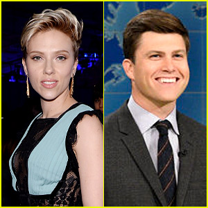 Scarlett Johansson & SNL's Colin Jost: New Couple Alert?