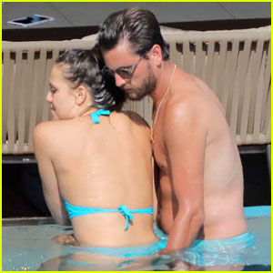 Scott Disick Flaunts Pool PDA with Another Woman in Cannes
