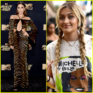 Paris Jackson & Shay Mitchell Have Contrasting, But Still Cool Styles at MTV Movie & TV Awards 2017