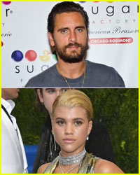 Scott Disick Hangs Out With Sofia Richie in Cannes