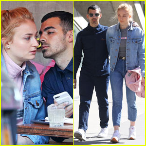 Joe Jonas Sneaks in a Smooch With Sophie Turner in SoHo