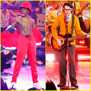 Stranger Things' Finn Wolfhard & Caleb McLaughlin Do an Epic 'Lip Sync Battle' Face Off - Watch Now!