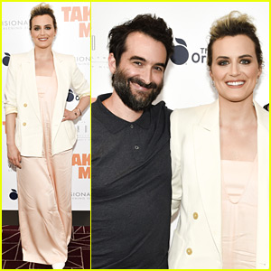 Taylor Schilling Doesn't Make It to the Movies That Often