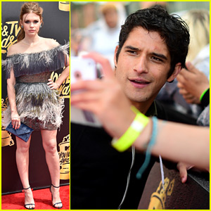 'Teen Wolf' Stars Hit Up MTV Movie & TV Awards 2017!
