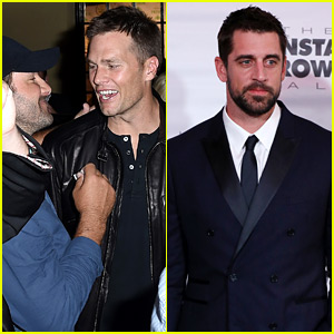 Tom Brady & Aaron Rodgers Hit Up Kentucky Derby Parties