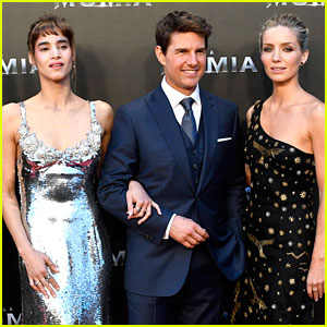 Tom Cruise, Sofia Boutella, & Annabelle Wallis Bring 'The Mummy' to Spain