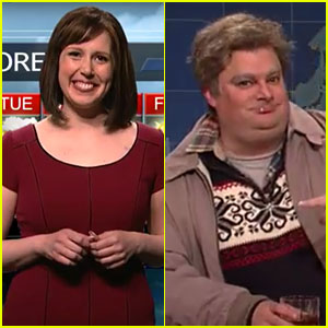 Vanessa Bayer & Bobby Moynihan Say Goodbye to 'SNL' - Watch Their Final Sketches! (Video)