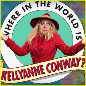'SNL' Asks 'Where in the World is Kellyanne Conway?' (Video)