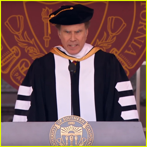 Will Ferrell Sings Whitney Houston's 'I Will Always Love You' During USC Commencement Speech - Watch Now!
