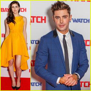 Zac Efron & Alexandra Daddario Bring 'Baywatch' to Sydney