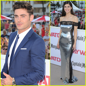 Zac Efron Suits Up for the 'Baywatch' Premiere in Miami