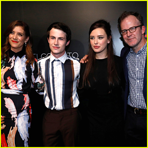 '13 Reasons Why' Stars Katherine Langford & Dylan Minnette Hit Netflix's FYC Event