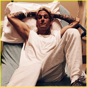 Aaron Carter Hospitalized After Fan Body-Shames Him
