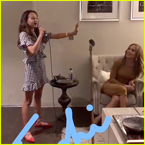 Alex Rodriguez's Daughter Sings for His Girlfriend Jennifer Lopez (Video)