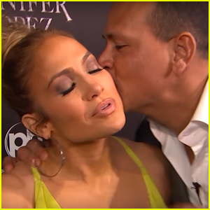 Alex Rodriguez Crashed Jennifer Lopez's Interview & It Was Adorable