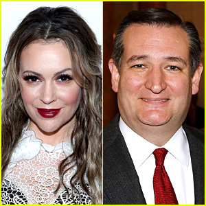 Alyssa Milano Denies Ted Cruz a Hug in Funny Tweet Exchange