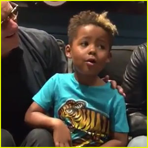 Amber Rose & Wiz Khalifa's Son Sebastian Sings Backstage with Chicago (Video)