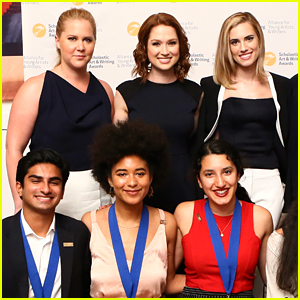 Amy Schumer, Ellie Kemper, & Allison Williams Honor Teens at the Scholastic Art & Writing Awards