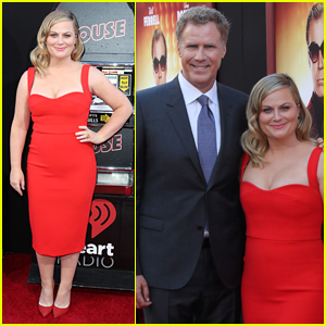 Amy Poehler & Will Ferrell Attend 'The House' Premiere in Hollywood
