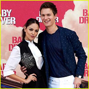 Ansel Elgort & Eiza Gonzalez Sing 'Despacito' a la Justin Bieber & Luis Fonsi (Video)