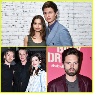 Ansel Elgort Gets Star-Studded Support at 'Baby Driver' NYC Screening!