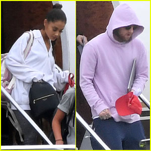 Ariana Grande Arrives in UK for 'One Love Manchester' Concert