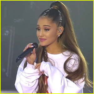 Ariana Grande Gives Touching Speech at One Love Manchester, Explains Why She's Singing the Hits (Video)