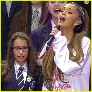 Ariana Grande Sings 'My Everything' with Children's Choir at One Love Manchester (Video)