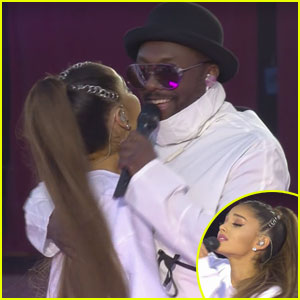 Ariana Grande & Black-Eyed Peas Sing 'Where is the Love?' at 'One Love Manchester' (Video)