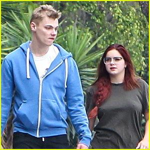 Ariel Winter & Boyfriend Levi Meaden Soak in The LA Weather