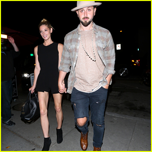 Ashley Greene & Paul Khoury Hold Hands During Dinner Date