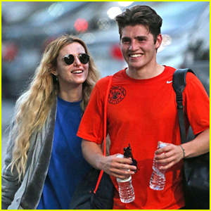 Bella Thorne Cheers On Gregg Sulkin at His Soccer Game