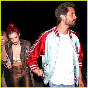 Bella Thorne & Scott Disick Hold Hands After Night at the Club
