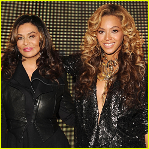 Beyonce's Mom Tina Visits Disneyland While She's Reportedly Having Her Twins