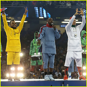 The Black Eyed Peas Perform at the UEFA Champions League Soccer Final Without Fergie