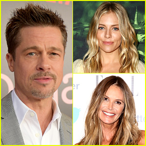 Brad Pitt Is Not Dating Sienna Miller or Elle Macpherson