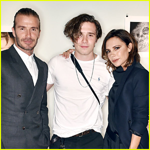 David & Victoria Beckham Support Brooklyn at His Book Launch!