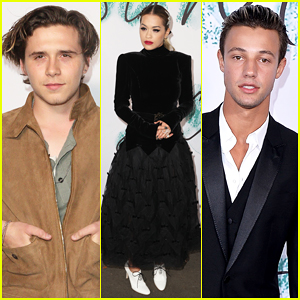 Brooklyn Beckham, Rita Ora & Cameron Dallas Put On Their Best For Serpentine Galleries Summer Party!