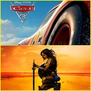 'Cars 3' Beats 'Wonder Woman' at Weekend Box Office