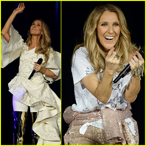 Celine Dion Kicks Off European Tour With Stunning Performance